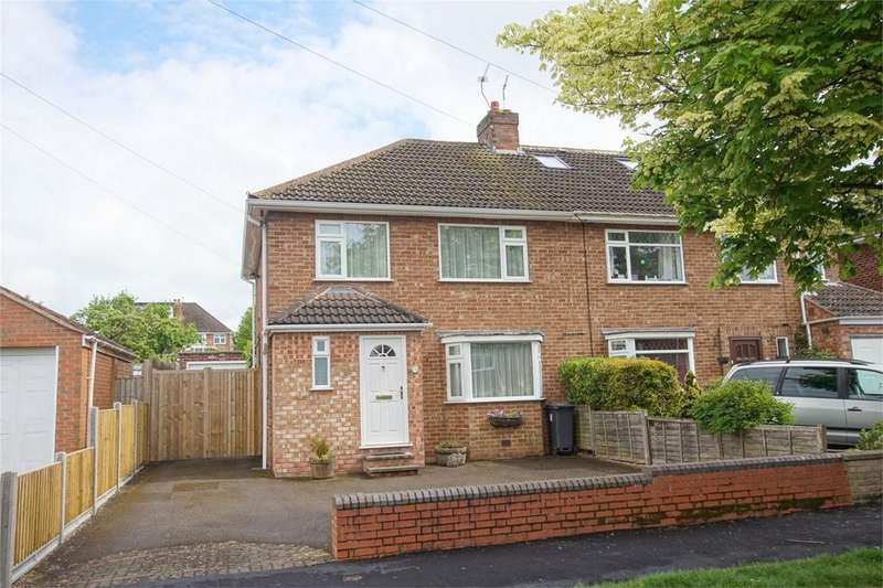 3 Bedrooms Semi Detached House for sale in Braemar Road, Royal Leamington Spa, Warwickshire