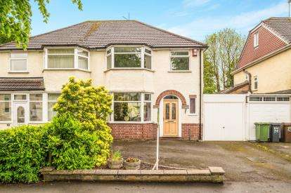 3 Bedrooms Semi Detached House for sale in Stanway Road, Shirley, Solihull, West Midlands
