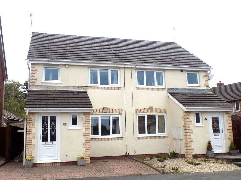 3 Bedrooms Semi Detached House for sale in Cwrt Y Carw , Margam Village, Port Talbot, Neath Port Talbot. SA13 2TS