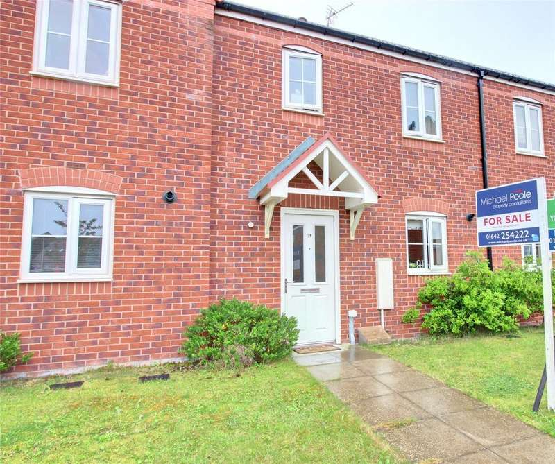 3 Bedrooms Terraced House for sale in Turnbull Way, Scholars Rise