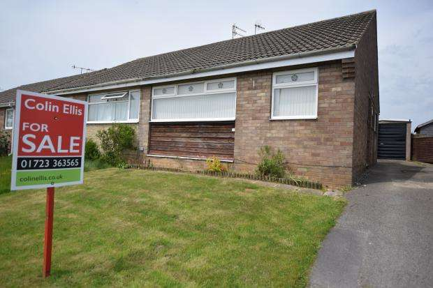 2 Bedrooms Semi Detached Bungalow for sale in Beech Close, Eastfield, Scarborough, North Yorkshire, YO11 3QZ