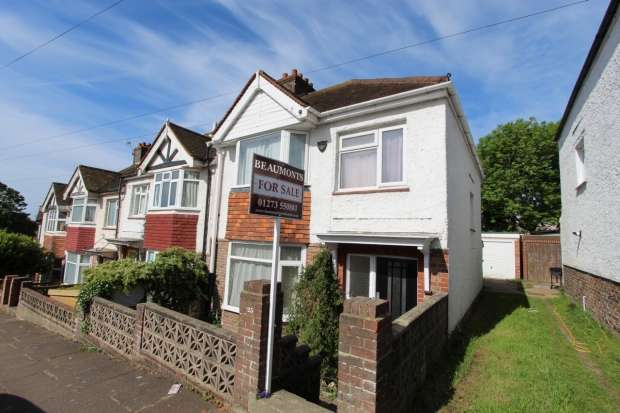 3 Bedrooms Semi Detached House for sale in Hertford Road Brighton