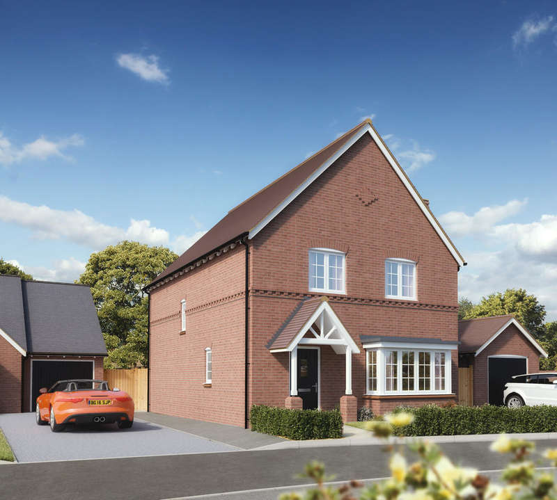 4 Bedrooms Detached House for sale in Plot 10 Pathways, Gaydon
