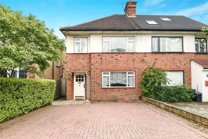3 Bedrooms Semi Detached House for sale in Tolcarne Drive, Pinner, Middlesex, HA5