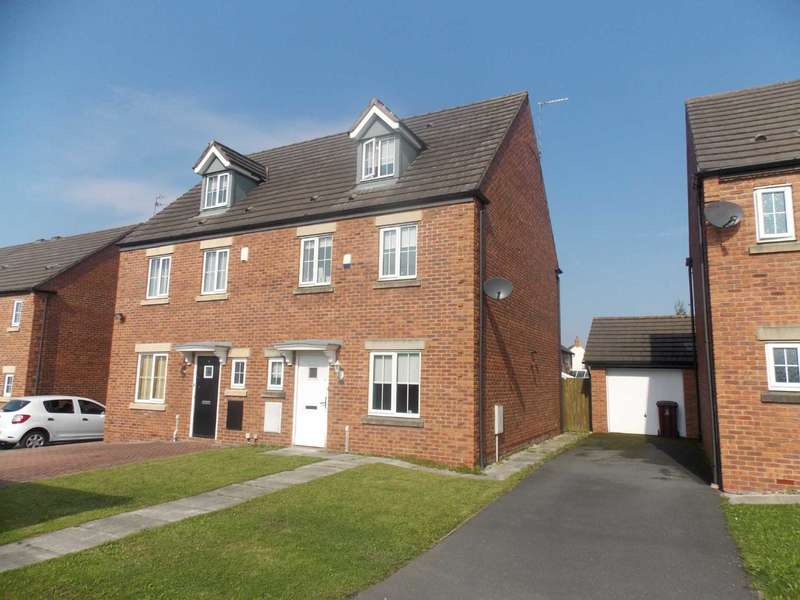 4 Bedrooms Semi Detached House for sale in Brett Close, Littledale