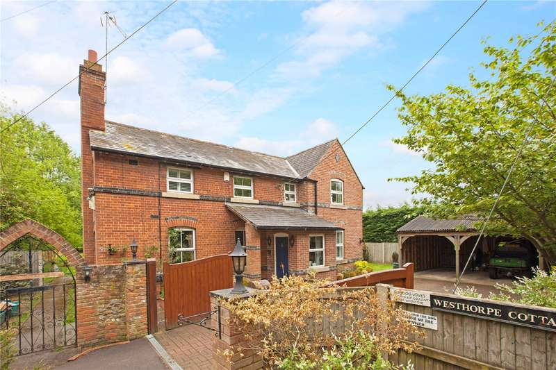 3 Bedrooms Detached House for sale in Westhorpe Farm Lane, Little Marlow, Buckinghamshire, SL7