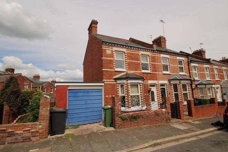3 Bedrooms Property for sale in Stafford Road, Exeter, EX4