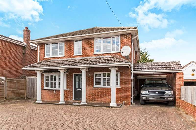 4 Bedrooms Detached House for sale in Buckskin Lane, Basingstoke, RG22