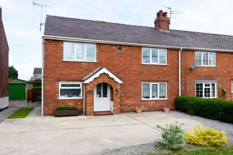 3 Bedrooms Semi Detached House for sale in Lincoln Road, North Hykeham, Lincoln, LN6