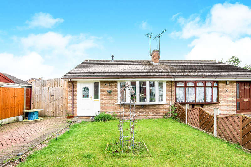 2 Bedrooms Semi Detached Bungalow for sale in Heather Drive, Wellington, Telford, TF1