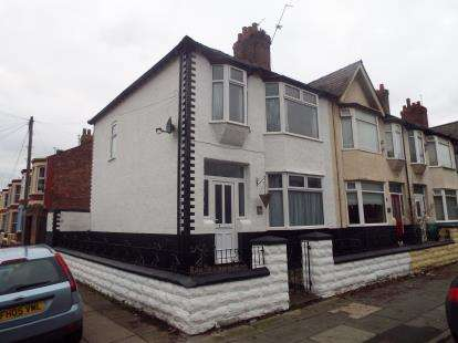 House for sale in Lawrence Road, Liverpool, Merseyside, Uk, L15