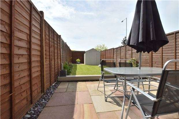 2 Bedrooms End Of Terrace House for sale in The Greenings, Up Hatherley, CHELTENHAM, Gloucestershire, GL51 3UX