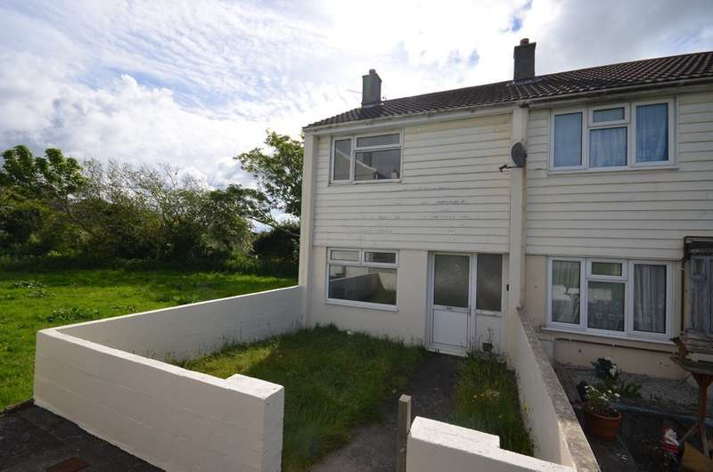 2 Bedrooms End Of Terrace House for sale in Rosemellin, Camborne