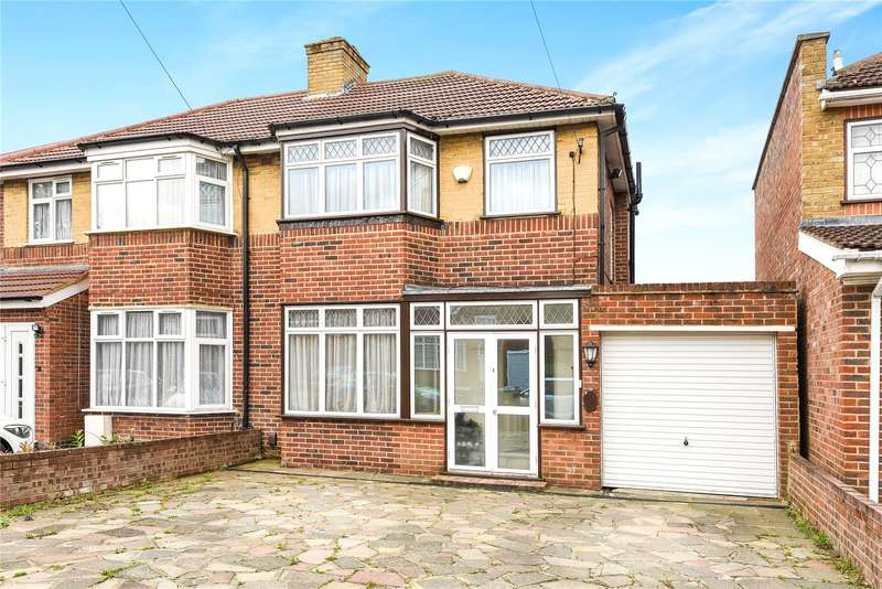 3 Bedrooms Semi Detached House for sale in Floriston Gardens, Stanmore, Middlesex, HA7