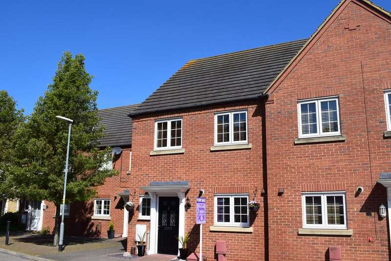 3 Bedrooms End Of Terrace House for sale in Kenzie Drive, Sutton Bridge, Spalding, Lincolnshire, PE12