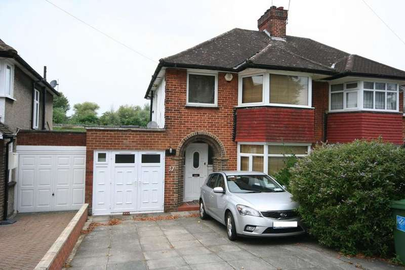 3 Bedrooms Semi Detached House for sale in Barn Hill HA9 9RX