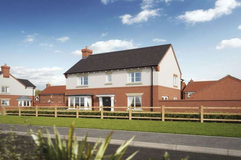 4 Bedrooms Detached House for sale in Newfield Rise New Street, Measham, Swadlincote, DE12