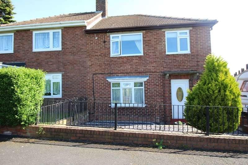 3 Bedrooms Semi Detached House for sale in Rockwood Hill Estate, Greenside, Ryton, NE40