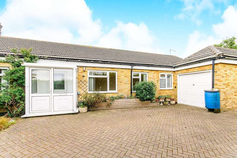 3 Bedrooms Semi Detached Bungalow for sale in Alland Grange Lane, Manston, Ramsgate, CT12