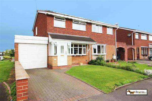 3 Bedrooms Semi Detached House for sale in Langmead Close, Walsall