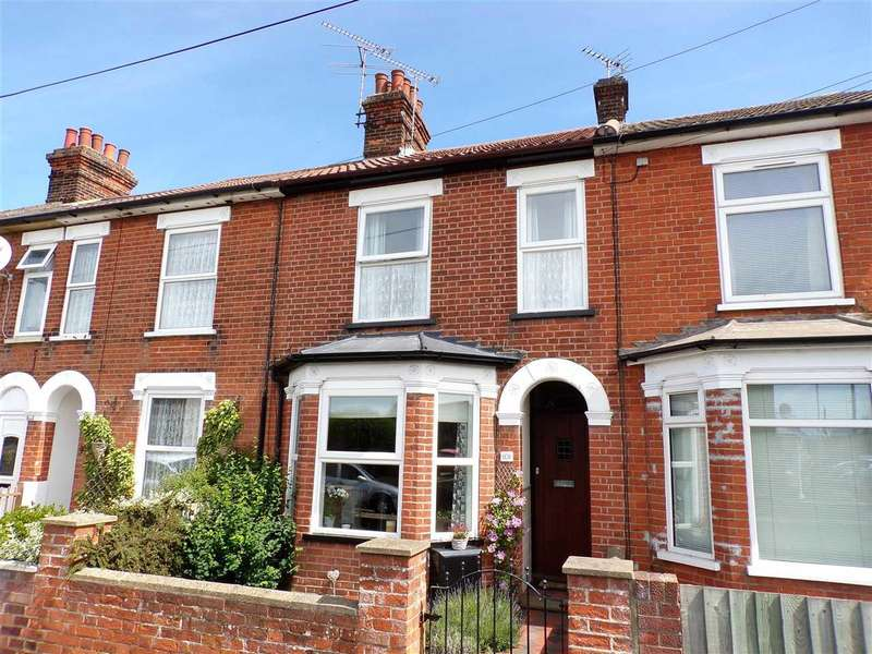 3 Bedrooms Terraced House for sale in Darwin Road, Ipswich