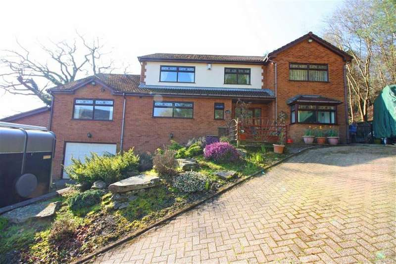 4 Bedrooms Detached House for sale in Greenfield Terrace, Cefn Pennar, Mid Glamorgan