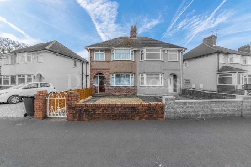 3 Bedrooms Semi Detached House for sale in Traston Road, Off Nash Road, Newport. NP19 4RQ