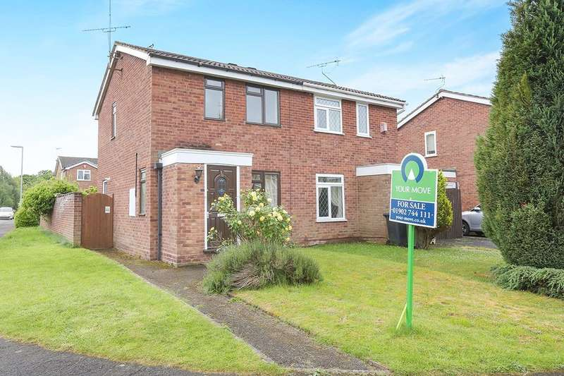 2 Bedrooms Semi Detached House for sale in Idonia Road, Perton, Wolverhampton, WV6