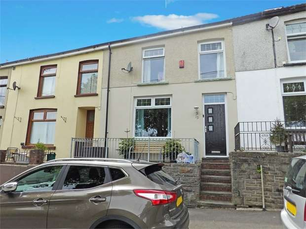 3 Bedrooms Terraced House for sale in Bryn Terrace, Tylorstown, Ferndale, Mid Glamorgan
