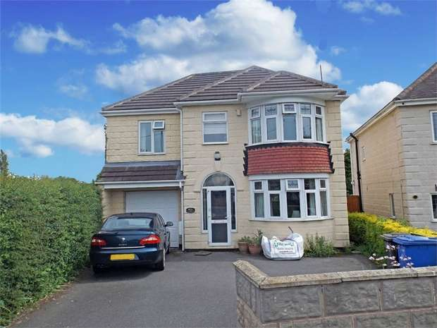 4 Bedrooms Detached House for sale in Morley Road, Chaddesden, Derby