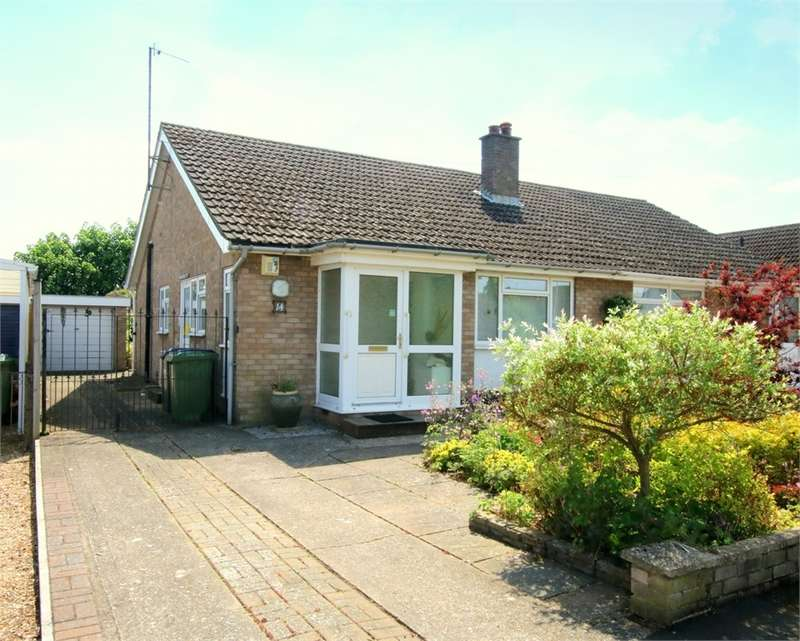 2 Bedrooms Semi Detached Bungalow for sale in Eaton Socon, St Neots