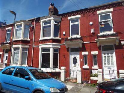 4 Bedrooms Terraced House for sale in Hampstead, Road, Liverpool, Merseyside, L6