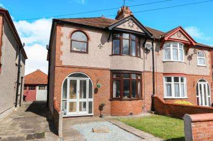 4 Bedrooms Semi Detached House for sale in Highbury Avenue, Prestatyn, Denbighshire, LL19