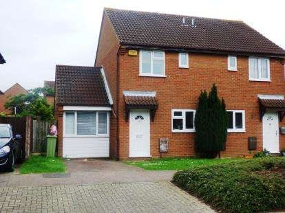 2 Bedrooms Semi Detached House for sale in Lichfield Down, Walnut Tree, Milton Keynes, Buckinghamshire