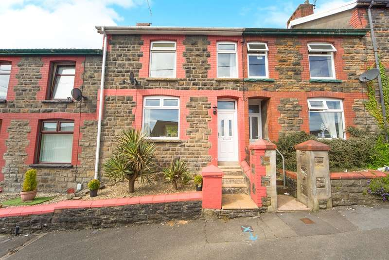 3 Bedrooms Terraced House for sale in Gellideg Road, Pontypridd
