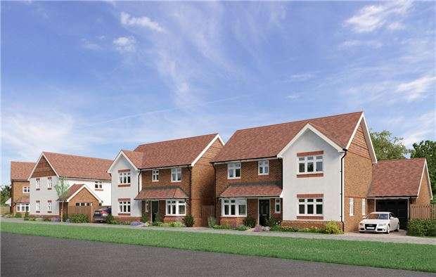 4 Bedrooms Detached House for sale in Reigate Road, Hookwood, HORLEY, Surrey, RH6 0AS