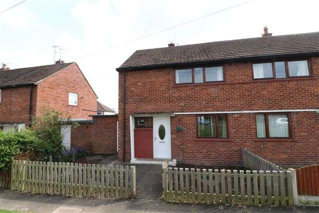 2 Bedrooms Semi Detached House for sale in Springfield Road, Carlisle, Cumbria, CA1 3QX