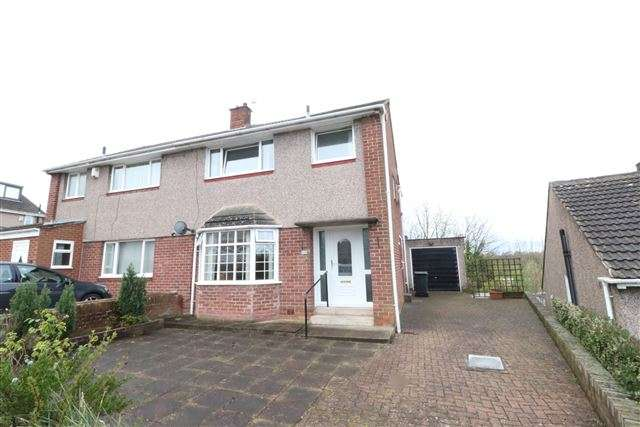 3 Bedrooms Semi Detached House for sale in Chertsey Bank, Carlisle, Cumbria, CA1 2QF