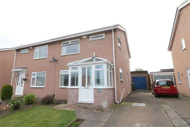 3 Bedrooms Semi Detached House for sale in Egerton Grove, Carlisle, Cumbria, CA2 6TF