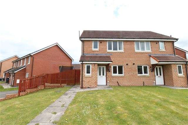 3 Bedrooms Semi Detached House for sale in Thomlinson Avenue, Carlisle, Cumbria, CA2 7BF