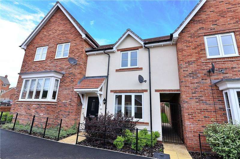 2 Bedrooms Terraced House for sale in Glendower Way, Great Witley, Worcester, Worcestershire, WR6