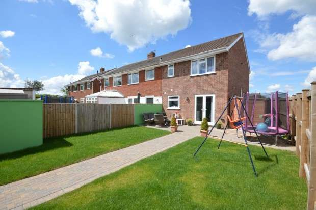 3 Bedrooms End Of Terrace House for sale in May Tree Walk, Keynsham, BS31