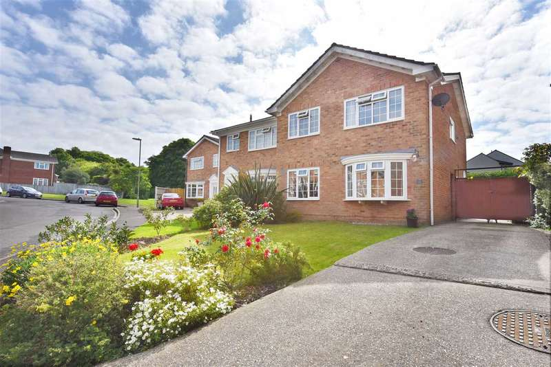 4 Bedrooms Semi Detached House for sale in SUMMERFIELDS, LOCKS HEATH