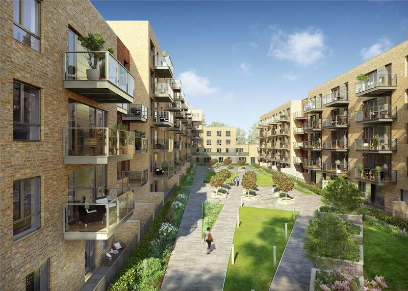 2 Bedrooms Flat for sale in 3 Smithfield Square, Hornsey, London, N8