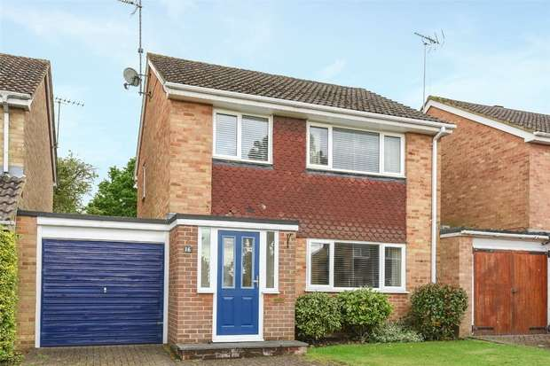 3 Bedrooms Link Detached House for sale in Sarum Crescent, WOKINGHAM, Berkshire
