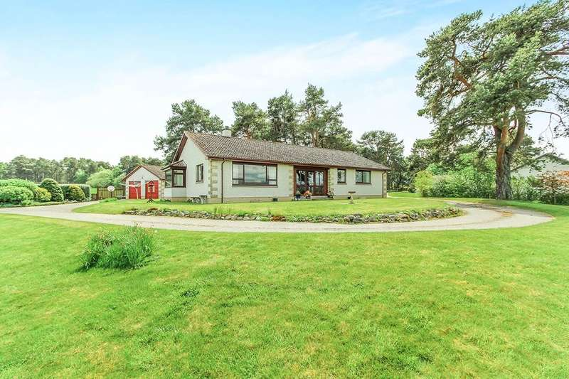 4 Bedrooms Detached Bungalow for sale in Easter Kinkell,Conon Bridge, Dingwall, IV7