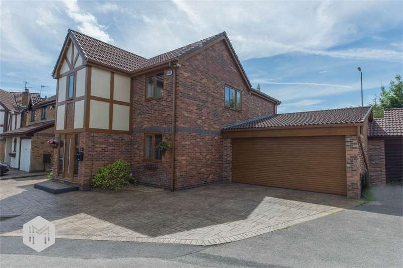 5 Bedrooms Detached House for sale in Montgomery Way, Radcliffe, Manchester, Lancashire