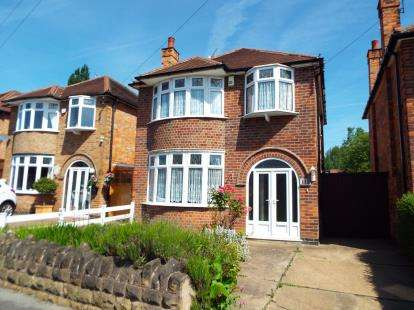 3 Bedrooms Detached House for sale in Hambledon Drive, Wollaton, Nottingham, Nottinghamshire