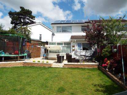 4 Bedrooms Semi Detached House for sale in Woodland Court, Flint, Flintshire, CH6