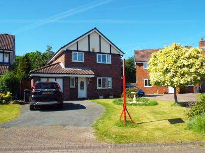 4 Bedrooms Detached House for sale in Steventon, Sandymoor, Runcorn, Cheshire, WA7